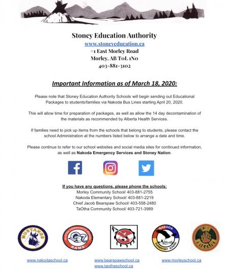 Stoney Education Authority